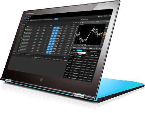 Intertrader web-based trading platform