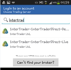 MT4 Android User Guide - Intertrader